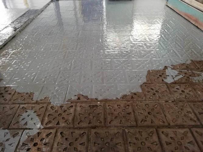 oprava staré podlahy obrobny