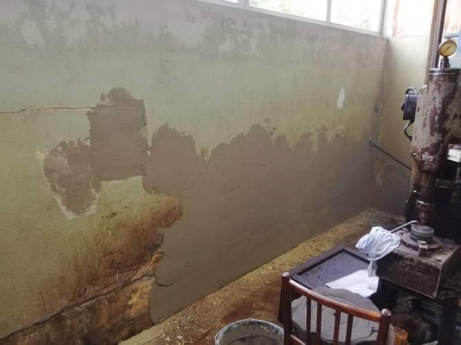 vyspravení zdí před penetrací